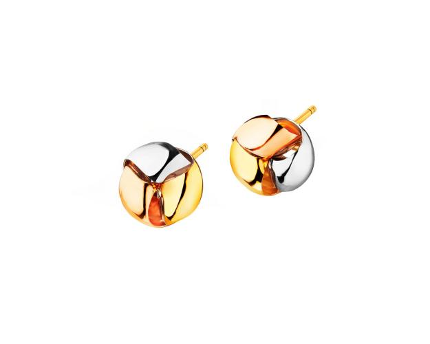 9ct Yellow Gold, White Gold, Pink Gold Earrings
