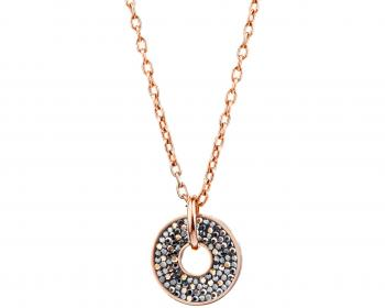 Stainless steel and Marcasite necklace
