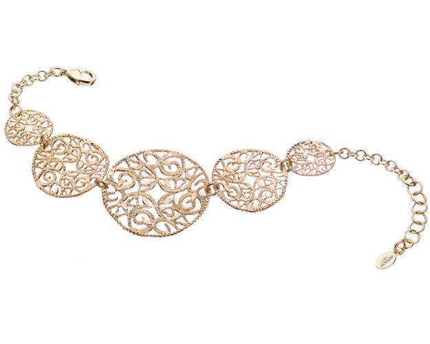 Gold plated bronze bracelet