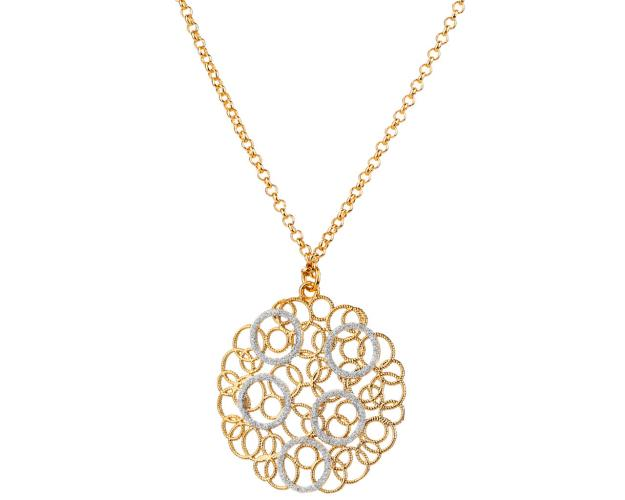 Gold-Plated Brass Necklace