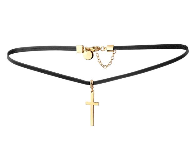 Gold-plated brass choker