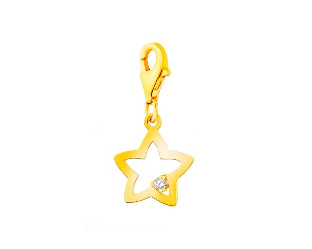 Gold charms pendant