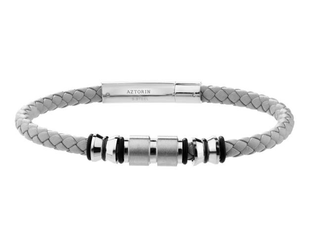 Stainless Steel, Rubber Bracelet