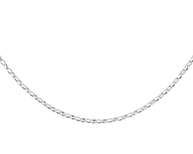 Rhodium Plated Silver Neck Chain