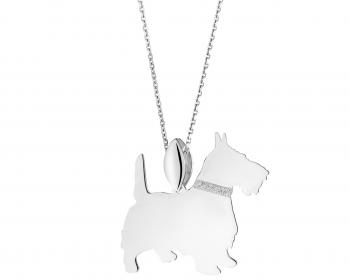 Sterling silver pendant - Scottish Terrier