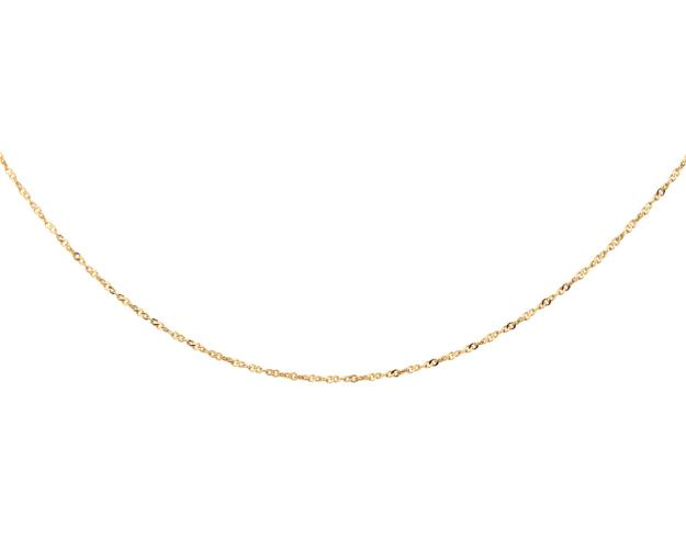 Gold-Plated Silver Neck Chain