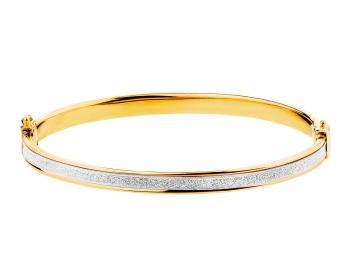 8ct Yellow gold bangle