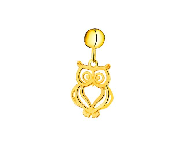 8ct Yellow Gold Pendant