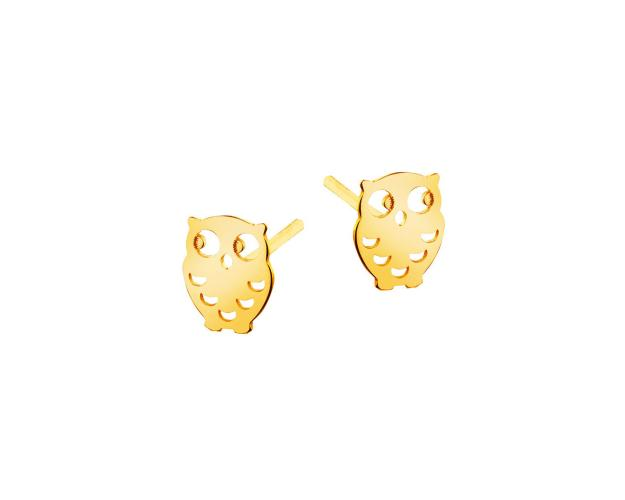8ct Yellow Gold Earrings