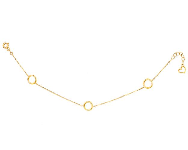 8ct Yellow Gold Bracelet
