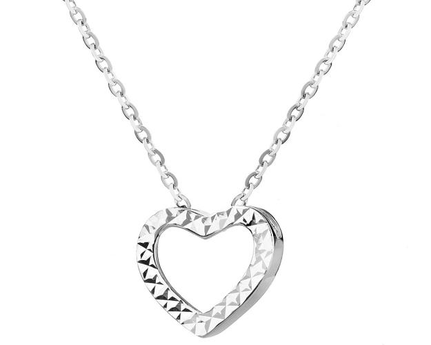 8ct White Gold Necklace
