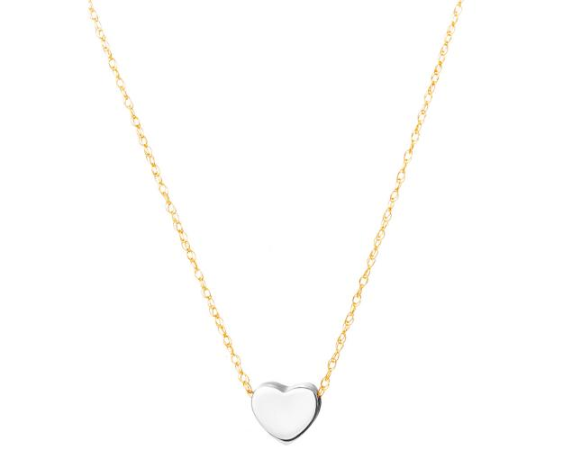 14ct Yellow Gold, White Gold Necklace