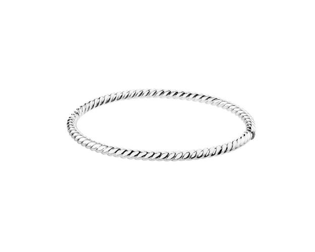 14ct White Gold Bracelet