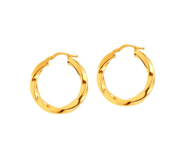 14ct Yellow Gold Earrings