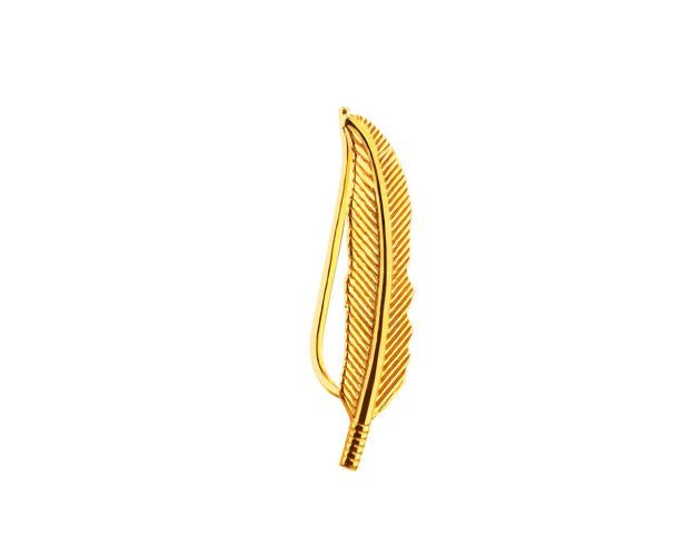 8ct Yellow Gold Ear Cuff