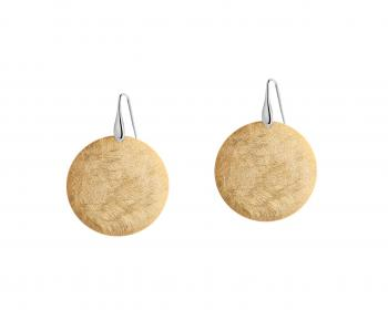 Gold-Plated Zinc Earrings