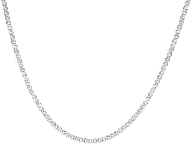 14ct White Gold Neck Chain