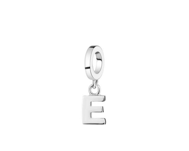 Rhodium Plated Silver Pendant