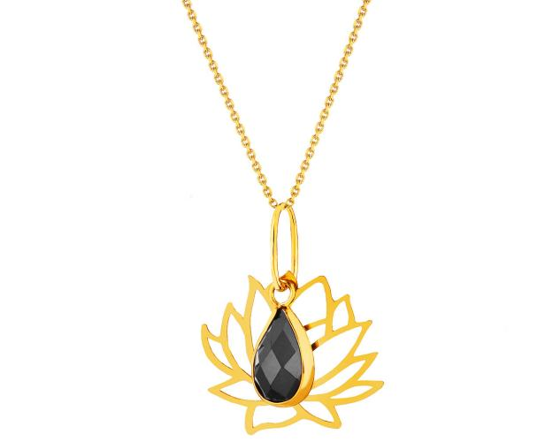 14ct Yellow Gold Pendant with Cubic Zirconia