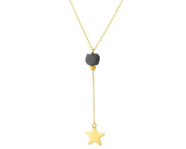 Yellow Gold Necklace with Star