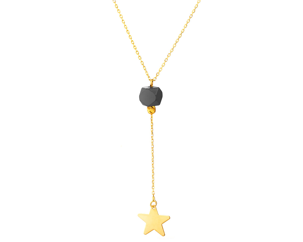 816ede41a Zlatý náhrdelník s hvězdou / Artelioni