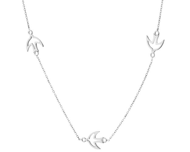 14ct White Gold Necklace
