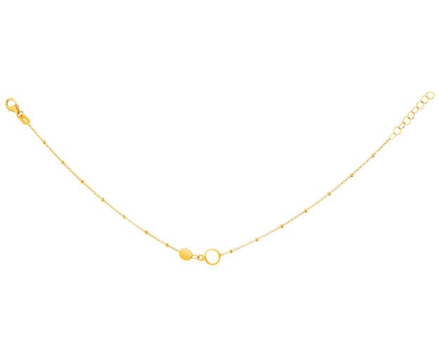 14ct Yellow Gold Bracelet