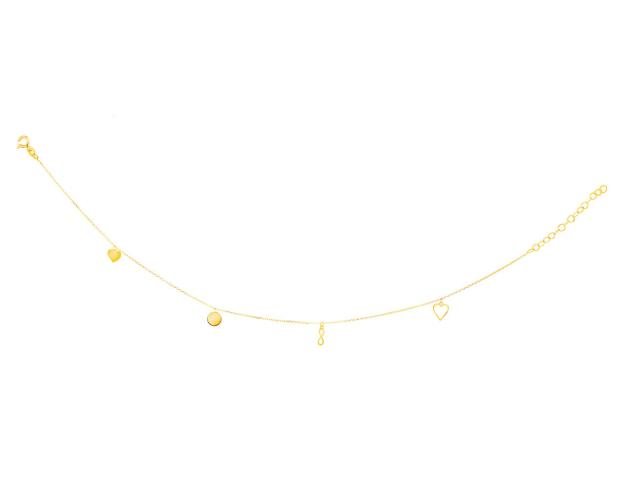 14ct Yellow Gold Anklet