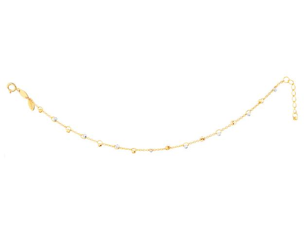 14ct Yellow Gold, White Gold Bracelet
