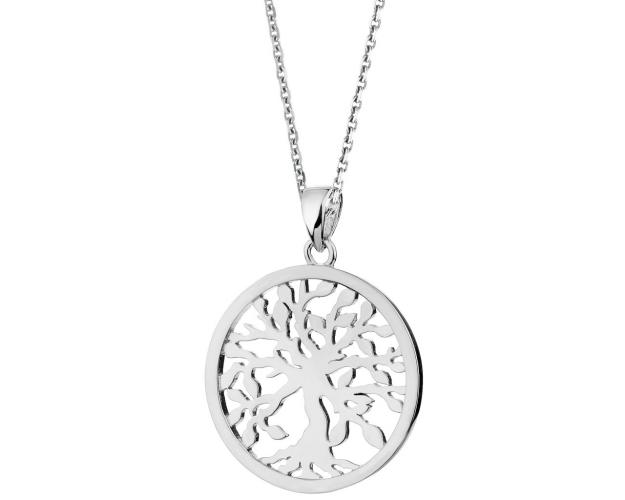 Sterling Silver Pendant - Tree