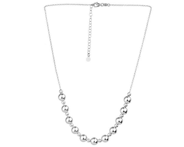 Sterling Silver Necklace - Balls