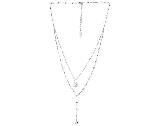 Sterling Silver Necklace - Coins
