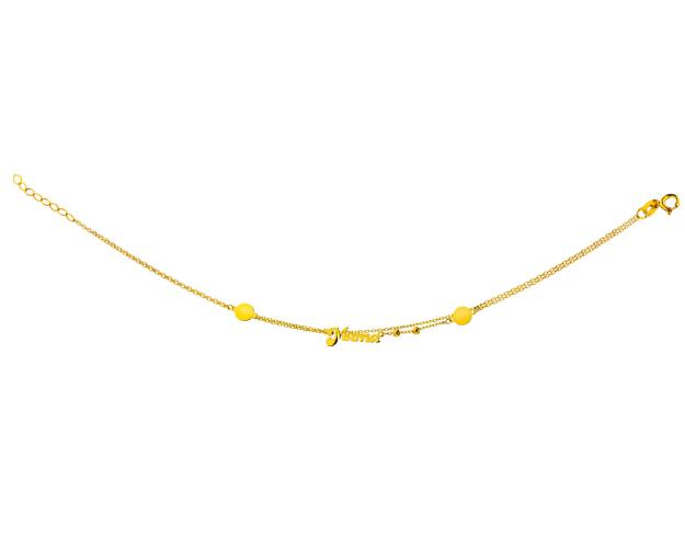 Yellow Gold Bracelet - Mother