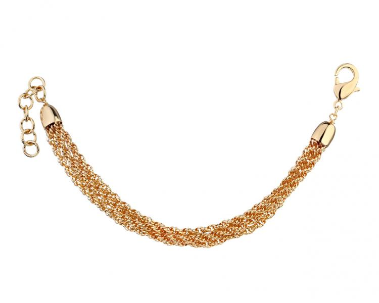 Gold-Plated Bronze Bracelet
